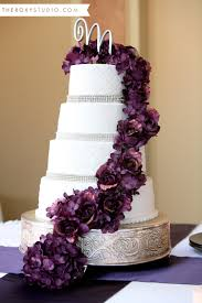 white and purple wedding cake purple roses bling wedding cake white fondent wedding cake letter cake topper