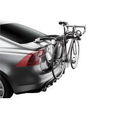 porte vélos de coffre suspendu thule raceway 991 pour 2 vélos