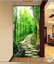 Wall Mural Decals Nature by Enchanted Forest Wall Decals Forest Wall Mural Painting A Mural