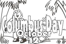 Happy October Coloring Page