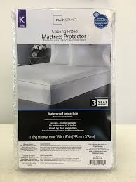 Mainstays Patio Heater Instructions by Mainstays Cooling Comfort Luxury Fitted Mattress Protector King