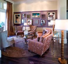 Hollywood Regency Living Room Contemporary
