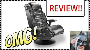 V Rocker Gaming Chair Power Adapter by High Def X Rocker 2 0 Wireless Gaming Chair Review Youtube