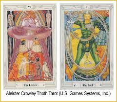thoth deck the fool tarot notes july 2014