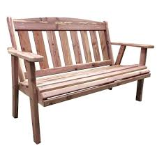 Home Depot Patio Furniture Canada by Red Cedar English Garden Bench Pictures With Appealing Cedar Wood