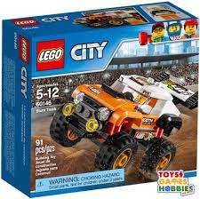 NEW* LEGO City Stunt Truck 60146 Race Car Driver Monster Truck ... Lego Ideas Lego Monster Truck 2018 Kinderlegofan Pinterest Legos And City Amazoncom 60027 Transporter Toys Games Arena Technic Set 42005 Itructions City Great Vehicles 60055 Energy Baja Recoil Nico71s Creations Custom Trucks 1 X Brick For Set Model Offroad Red 9094 Racers Star Striker Amazoncouk