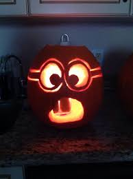 Funny Pumpkin Carvings Youtube by Best 25 Minion Pumpkin Carving Ideas On Pinterest Minion