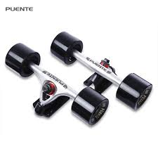 100 Trucks For Skateboards 2019 PUENTE Generic 7 Inch Skateboard Truck Accessory With Wheel
