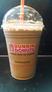 Dunkin Donuts Pumpkin Syrup Nutrition Facts by Thirsty Dudes Dunkin U0027 Donuts Frozen Mocha Coffee