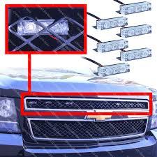 100 Emergency Strobe Lights For Trucks 18 Led Emergency Vehicle Strobe Lights For Front Grille Deck