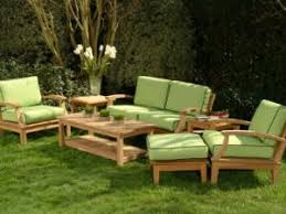 canapé teck jardin salon canape de jardin en teck fabriquer un canap plan bois