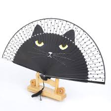 VORCOOL Summer Cat Bamboo Silk Handheld Folding Fan Personal Fan For  Wedding Dancing Party Decor(Black) Victorian Bamboo Folding Screen The Annual Singapore Design Week Is Back With Over 100 Vtg Pair Parzinger Rattan Woven Chair Regency Victorian Design Mirror Antique Bamboo 3 Tier Table In Rh11 Crawley For Folding Campaign Chair Hoarde Az Of Fniture Terminology To Know When Buying At Auction French Colonial Faux Restoration Project C1900 Walnut Deck Circa A Guide Buying Vintage Patio Fniture V Studio Forest On The Roof Divisare