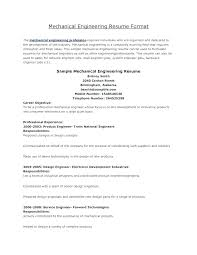 Resume Maker Professional Free Design Engineer Sample Engineering Format And