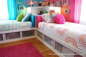 Awesome Corner Twin Beds with Underbed Storage
