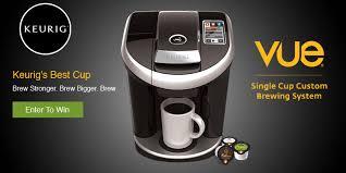 Keurig Vue V500 Coffee Maker Win A V Brew And Com Solofill Gold