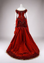 Ball Gown 1875 Silk Cotton 1800s FashionVictorian FashionVintage