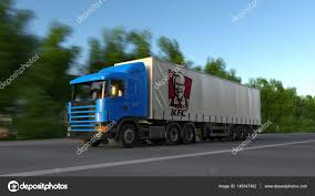 Freight Semi Truck With Kentucky Fried Chicken KFC Logo Driving ... Heavy Truck Towing Northern Kentucky I64 I71 Big Louisville Usa March 31 2016 Stock Photo Royalty Free Freight Semi Truck With Fried Chicken Kfc Logo Driving 2000 53 Moving Single Drop Van Dry Van Trailer For The Spirit Tour Takes Ooida Rources To The Road Land Line Trucks Loading Or 1005 Tf1 Configured Drop Chassis Thking Outside Box News Used 1998 Kentucky Moving Van Trailer For Sale In Moving Trailer Item J1125 Sold Octobe Houston Texas Harris County University Restaurant Drhospital Equipment Cargo Hauling 57430022