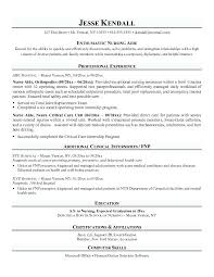 Resume Examples Cna Hospital Sample With Experience Skills