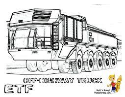 100 Construction Truck Coloring Pages Unique Dump And Crane