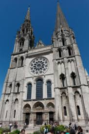 Chartres Cathedral Buildings And Statues Constructed Of Limestone