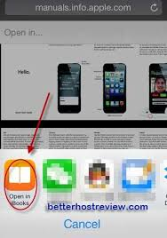 Save PDF to iPhone – Better Host Review