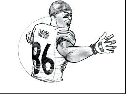 Nfl Team Helmets Coloring Pages All Teams Giants Logos Line
