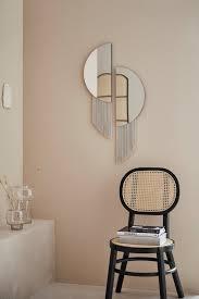 leger home by lena gercke spiegel franka mit dekorativen fransen kaufen otto