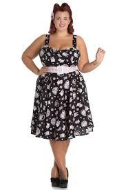 hell bunny black amelia cat print 50 u0027s dress