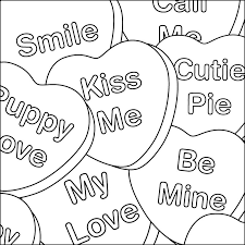 Lovely Design Valentines Day Coloring Pages Printable Most Of The Page Will Be Detailed Hearts