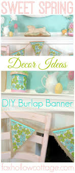 Spring Home Decor Decorating Ideas