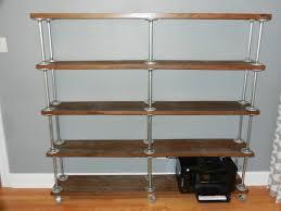 galvanized pipe bookcase google search condo pinterest