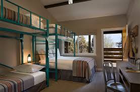 hnn guests cut costs stay together in bunk bed rooms