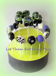Monster Truck Cake Pops By Let Them Eat Cake Pops ~ Www ... Cool Homemade Monster Jam Birthday Cake Diy Truck Blaze And The Machines Ideas Edible Image Prty Homeinteriorplus Cakes Decoration Little Themed School Time Snippets Crissas Corner Coolest Mayhem Decoset 14 Sheet Decorating Itructions Decopac 3d Grave Digger Berricakescom Monster Machines Cake With Buttercream Icing Crumbled Four Oaks Bakery