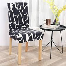 dotbuy stuhlhussen stuhlbezüge 1 4 6 10er set stretch esszimmer stuhl husse schonbezug schutzhülle elastische abdeckungen für hochzeit hotel
