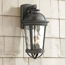 timberland provence 18 h large black outdoor wall light