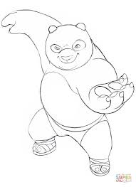 Click The Kung Fu Panda Coloring Pages To View Printable Version Or Color It Online Compatible With IPad And Android Tablets