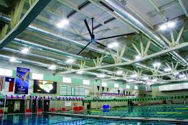Hvls Ceiling Fans Residential by What Natatoriums Need To Know About Hvls Fans Aquatics