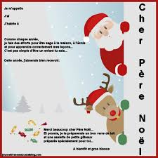 Lettre Au Pere Noel à Imprimer Maternelle Jennelly