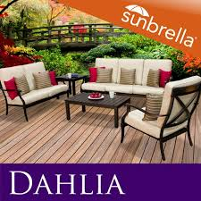 Cast Aluminum Patio Furniture With Sunbrella Cushions by 97 Best Patio Furniture Images On Pinterest Toss Pillows Tossed