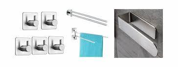 handtuchhalter für badezimmer ohne bohren anbringen