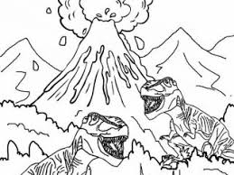 Volcano Colouring Pages Printable Volcano Coloring Pages For Kids