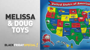 Melissa And Doug Dinosaur Floor Puzzles by Melissa U0026 Doug Black Friday Featuring Melissa U0026 Doug Usa Map