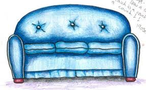 Shells Daily Drawing Prompt Draw A Couch