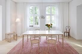eine farbkombi 5 styles esszimmer in weiß rosa und holz