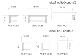 Dining Table Dimensions Standard Size