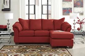 100 Red Dining Chairs 77449 Darcy Salsa Sofa Chaise 750011 Ashley