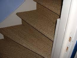 pose de jonc de mer dans un escalier qui l a fait résolu