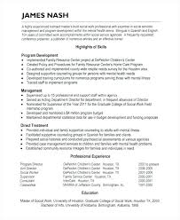 Social Worker Sample Resume Palliative Care Medical Templates