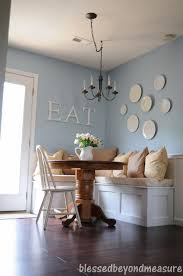 Charming Kitchen Dining Decoration Design With Banquette Seating Ideas Inspiring Room