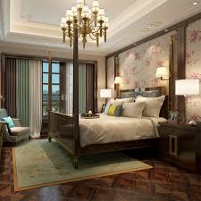hanmero schöne pastoralen floralen design tapeten wasserdichte 3d geprägte vinyl tapete schlafzimmer qz0186